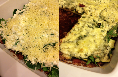 Healthy Vegetarian Lasagne
